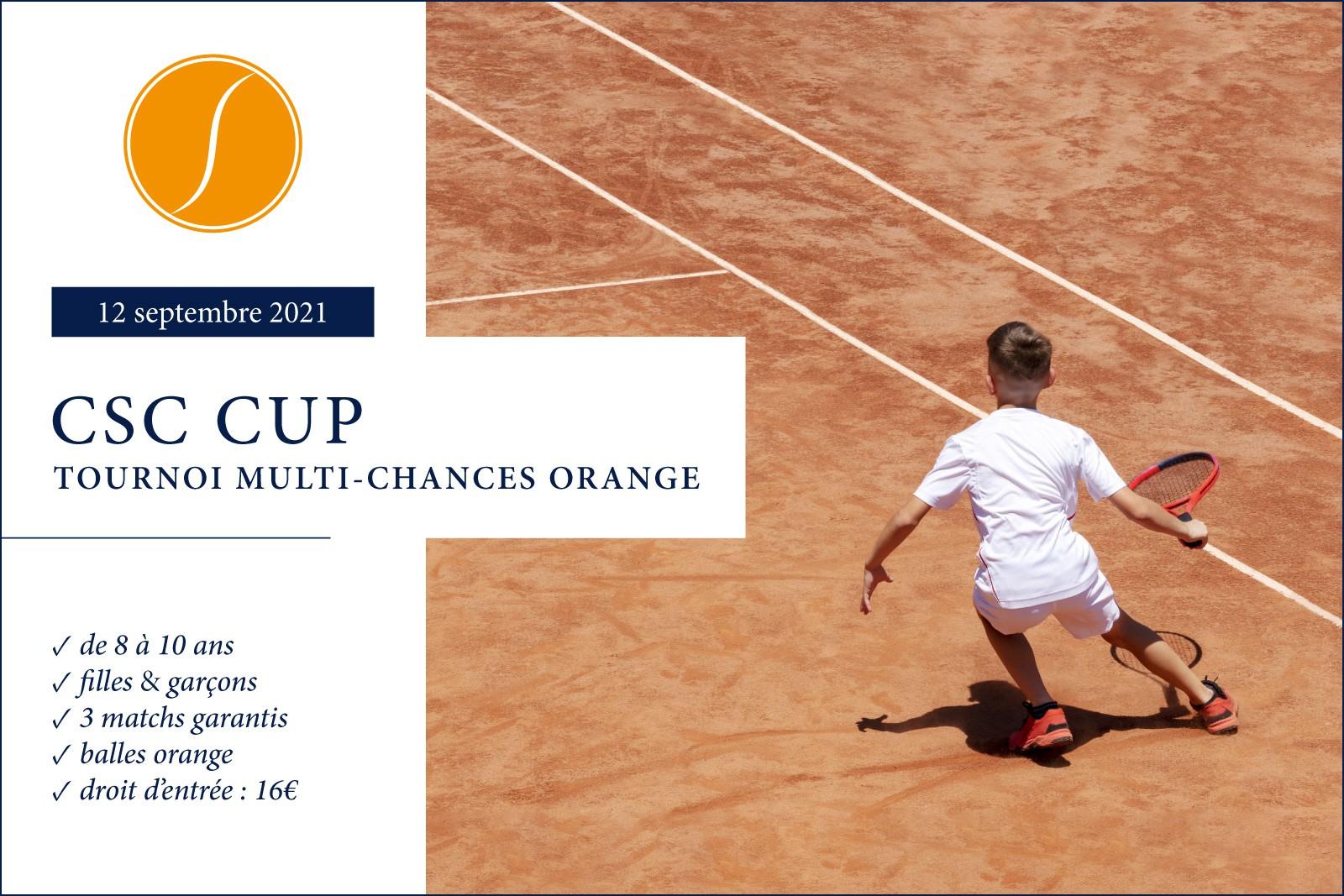 CSC CUP - TMC 8/10 ans Orange