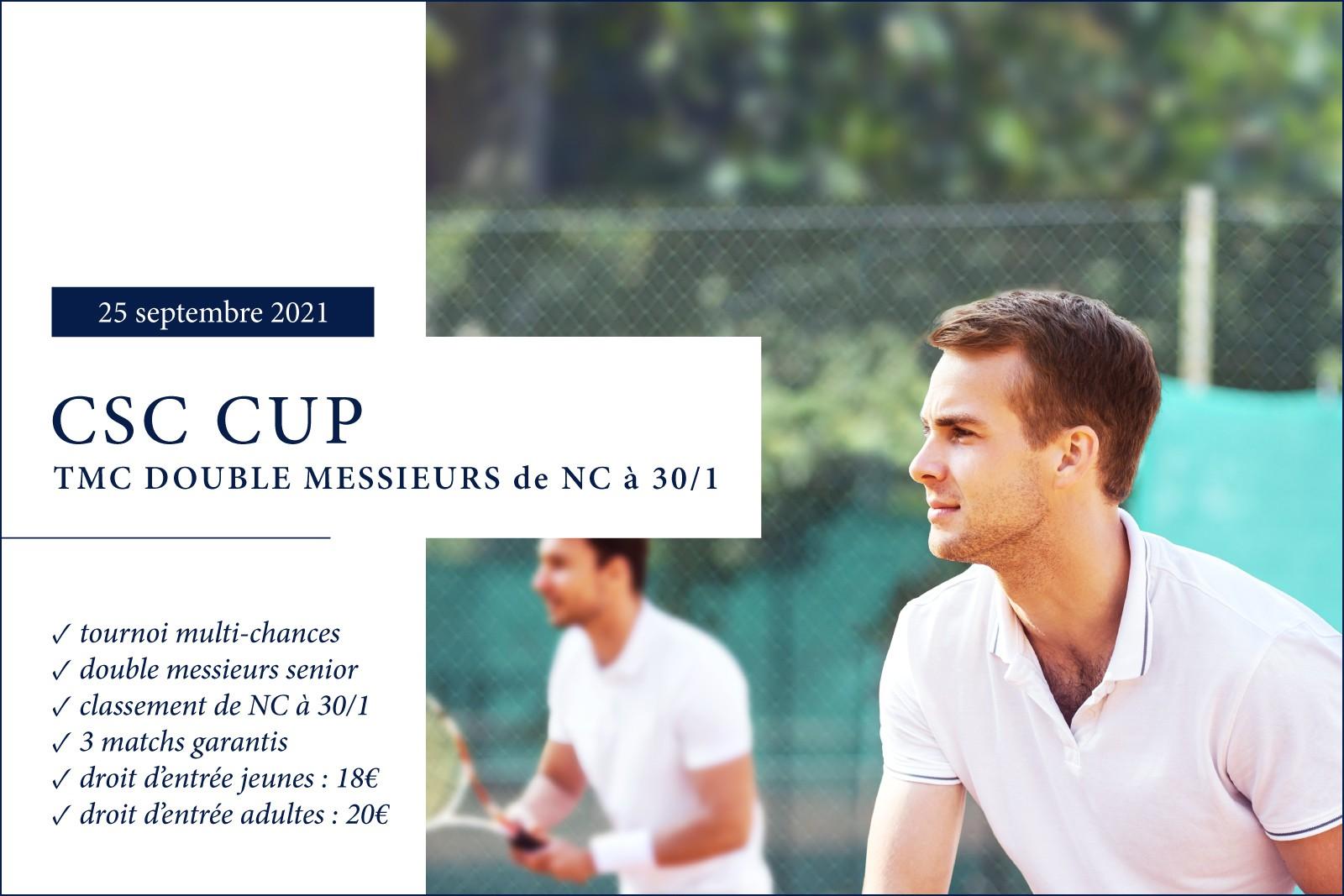 CSC CUP - TMC Double Messieurs Senior