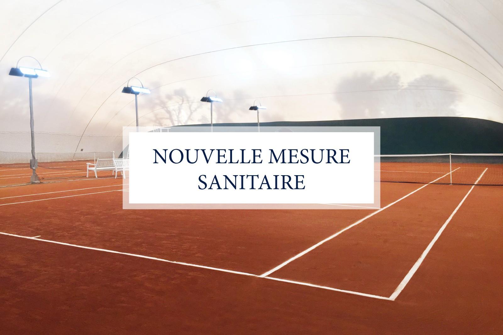 NOUVELLE MESURE SANITAIRE