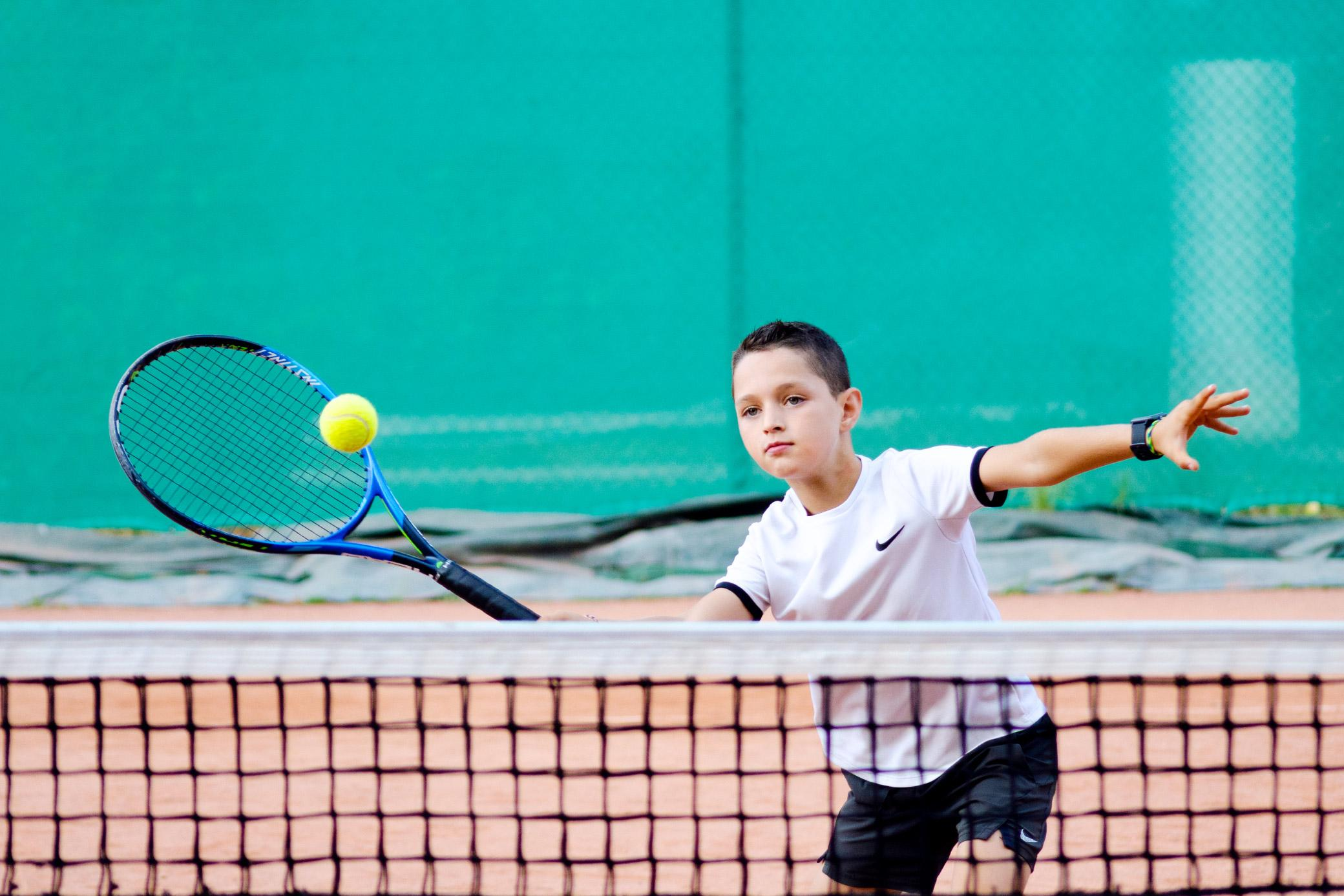 École de tennis pour les enfants